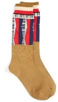 Undercover Women's Piano Colorblock Socks