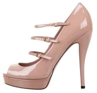 8a677678b Gucci Mary Jane Heels - ShopStyle Australia