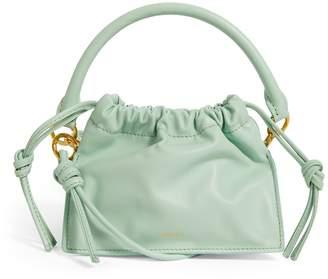 Yuzefi Mini Leather Bom Cross-Body Bag