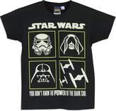 Star Wars Boys' T-Shirt Glow in the Dark