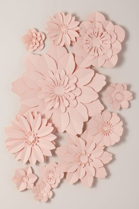 May Contain Glitter Paper Flower Wall Decor