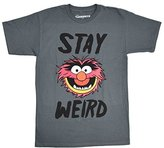 Disney Muppets Animal Stay Weird T-shirt (Extra Large,)