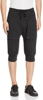Helmut Lang Infiltrated Fleece Cropped Sweatpants