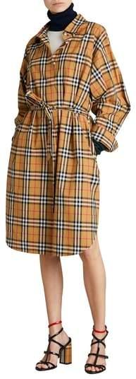 Burberry Isotto Tartan Shirtdress