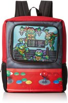 "Nickelodeon Teenage Mutant Ninja Turtles Big Boys Arcade Game"" Backpack"