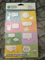Martha Stewart New/sealed Crafts Animal Icon Bubble Stickers - Item M860338