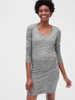 Gap Maternity Long Sleeve T-Shirt Dress