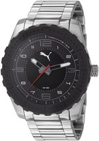 Puma Men's PU103091002 Cross Analog Watch