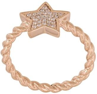Alinka 'STASIA' single star diamond ring