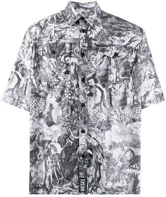 Diesel Divine Comedy short-sleeved shirt