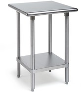 Williams-Sonoma Stainless-Steel Kitchen Workbenches