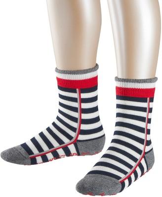 Esprit Stripe Logo Homepads Slipper Socks - 87% Cotton White (Off-White 2040) UK 6-8.5 (Manufacturer size: 23-26) 1 Pair