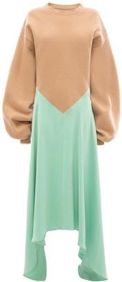 J.W.Anderson Silk Insert Jumper Dress