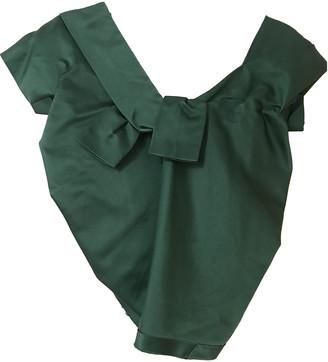 Marc Jacobs Green Silk Tops