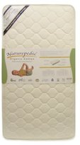 Naturepedic Quilted Organic Cotton Deluxe Crib Mattress by