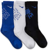 Nike 3-pk. Performance Crew Socks - Boys