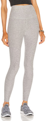 Beyond Yoga Spacedye Caught In The Midi High Waisted Legging in Silver Mist   FWRD