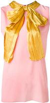 Gucci - blouse à col noué - women -