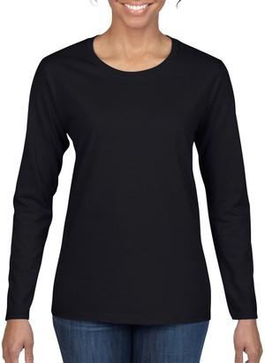 Gildan Women's Heavy Cotton Long Sleeve T-Shirt 2-Pack