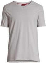 HUGO Ero Woven Cotton Stretch T-Shirt