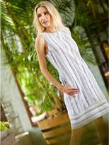 Linen Shift Dress Shopstyle Uk