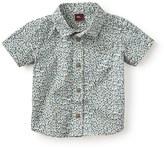 Tea Collection Flaminio Ponzio Print Woven Shirt (Baby Boys)