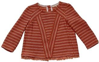 Maje Pink Tweed Top for Women