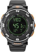 Timberland Men's Mendon Black Polyurethane Strap Watch 52mm TBL15027XPB02PA