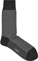 Reiss Brenta Houndstooth Socks