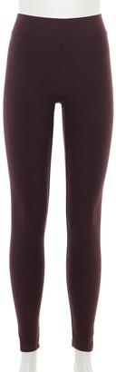 Sonoma Goods For Life Petite Cozy Wide-Waistband Leggings