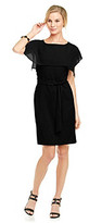 Vince Camuto Shift Dress With Square Draping