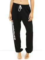 Private Party Hungover Sweatpants in Black