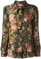 Saint Laurent Floral Vintage Blouse