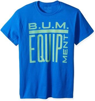 Equipment Bum Men's Standard Box Logo T-Shirt