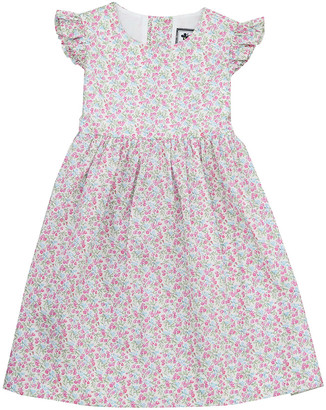Busy Bees Florence Ruffle Sleeve Dress