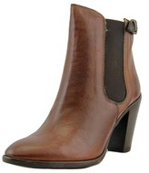 Geste Proposition Savage Round Toe Leather Ankle Boot.