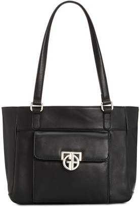 Giani Bernini Hardware Nappa Leather Tote