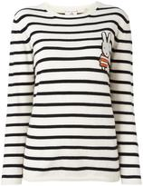 Chinti and Parker striped Miffy jumper