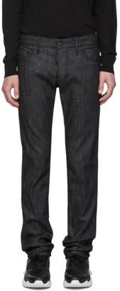 DSQUARED2 Black Resin Jeans