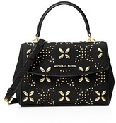MICHAEL Michael Kors Ava Studded Extra Small Leather Crossbody