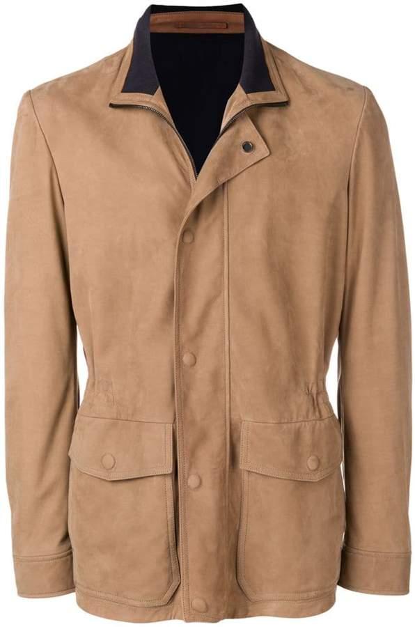 Ermenegildo Zegna XXX fitted shirt jacket