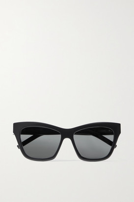 Saint Laurent Cat-eye Acetate Sunglasses - Black