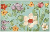 Liora Manné Trans Ocean Imports Visions IV Watercolor Flower Doormat - 20'' x 29 1/2''