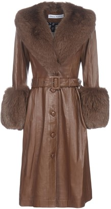Saks Potts Foxy Belted Coat