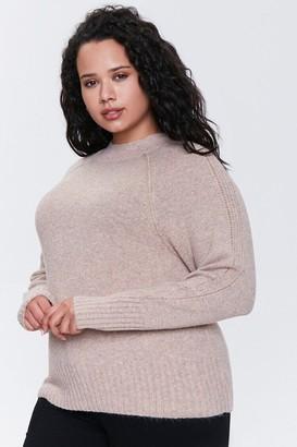 Forever 21 Plus Size Raglan Sweater