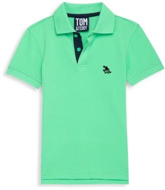 Tom & Teddy Little Boy's & Boy's Solid Supima Cotton Polo