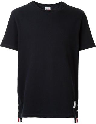 Thom Browne rear stripe applique T-shirt