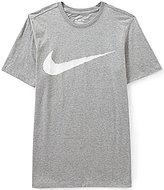 Nike Big & Tall Hangtag Swoosh Short-Sleeve Crewneck Graphic Tee
