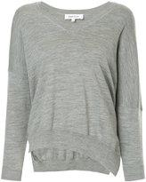 Enfold side slit sweater