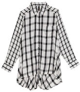 Melissa McCarthy Plus Plaid Long Sleeve Shirt